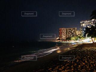 夜の海の写真・画像素材[1374220]