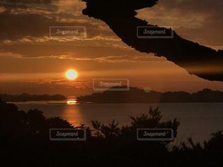松島の日の出の写真・画像素材[1001248]
