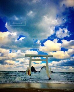 糸島二見ヶ浦の写真・画像素材[1001393]