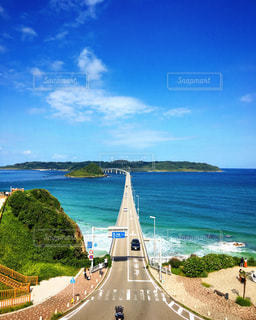 角島大橋の写真・画像素材[1001435]
