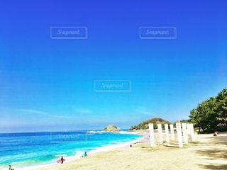志賀島のビーチの写真・画像素材[1008026]