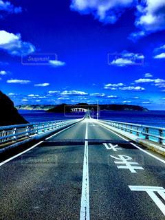 角島大橋の写真・画像素材[1008381]