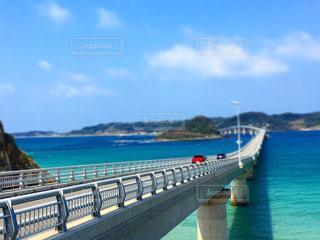 角島大橋の写真・画像素材[1081554]