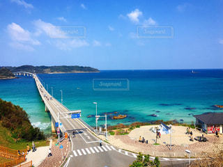 角島大橋の写真・画像素材[1081555]