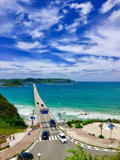 角島大橋の写真・画像素材[1193080]
