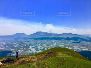 阿蘇大観峰の写真・画像素材[2093043]
