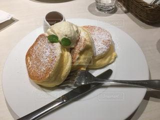 幸せのパンケーキの写真・画像素材[1001584]