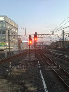 信号の写真・画像素材[1001586]