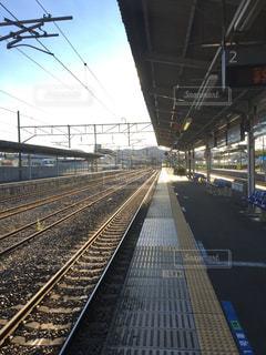鉄道旅で撮った写真の写真・画像素材[1001814]