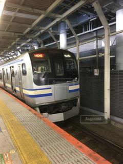 通勤列車の写真・画像素材[1055530]