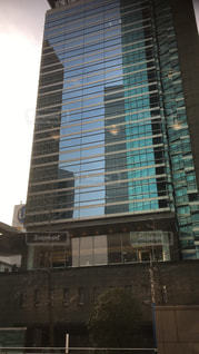 都会のビルの写真・画像素材[1055531]
