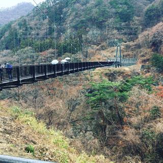 川に架かる橋の写真・画像素材[2093166]