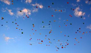 空に凧の飛行の人々 - No.1001829