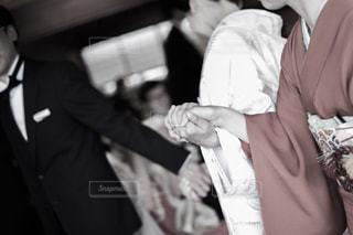 結婚式のひとこまの写真・画像素材[1001785]