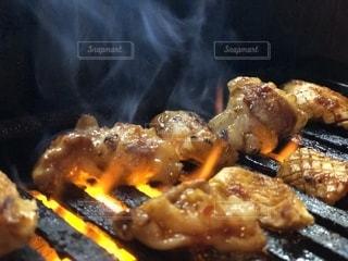 ホルモン焼肉写真の写真・画像素材[1001992]