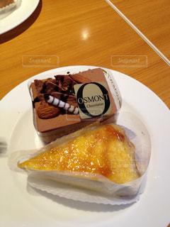 皿の上のケーキ - No.1003631
