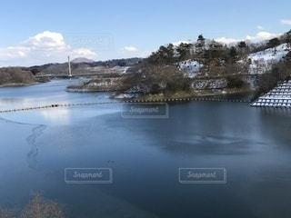 三春ダムの写真・画像素材[1007604]