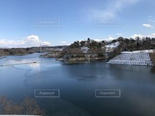 三春ダムの写真・画像素材[1007605]