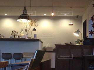 カフェの写真・画像素材[1005112]