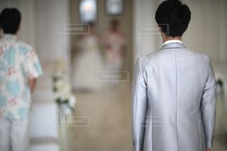 タキシードの男性 - No.1005351