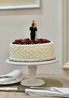 ウェディングケーキの写真・画像素材[1005357]