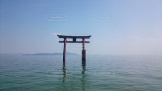 びわ湖の鳥居 - No.1004405