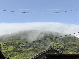 雲をかぶるの写真・画像素材[1006311]