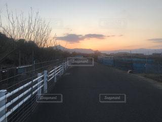 朝焼けの写真・画像素材[1007718]