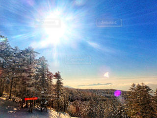 スキー場の景色の写真・画像素材[1005164]