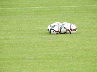 サッカーの写真・画像素材[1026614]