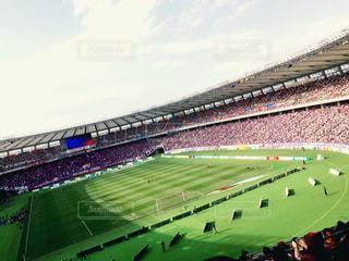 サッカースタジアムの写真・画像素材[1026615]