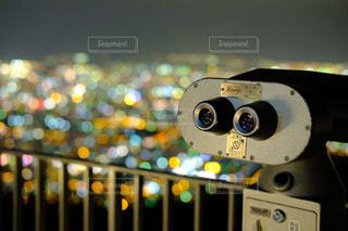 展望台からの夜景の写真・画像素材[1005949]