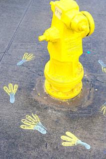 黄色い消火栓の写真・画像素材[1006732]