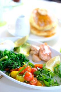 朝食プレートの写真・画像素材[1006816]