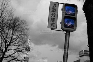 信号の写真・画像素材[1018377]