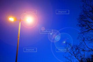 街灯の写真・画像素材[1018381]