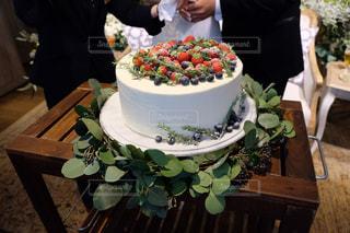 ウェディングケーキの写真・画像素材[2371670]