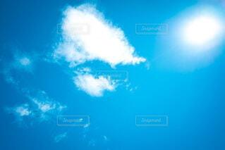 晴れの日の空の写真・画像素材[4736786]