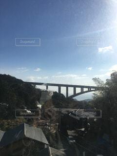 川に架かる橋の写真・画像素材[1006062]