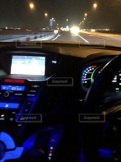 車のコントロールパネルの写真・画像素材[1138962]