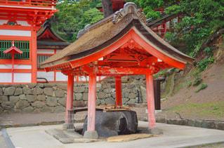 日御碕神社の手水舎の写真・画像素材[1263690]
