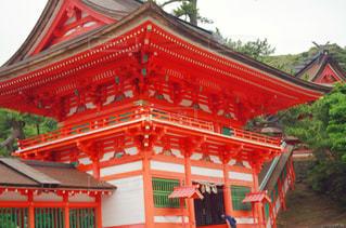 日御碕神社の門の写真・画像素材[1263693]