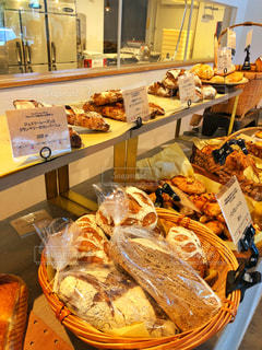 ベーカリーのパンの写真・画像素材[1415576]