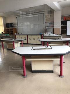 小学校の理科室の写真・画像素材[1670268]