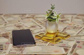 純金投資のイメージの写真・画像素材[1672683]
