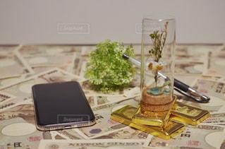 純金投資のイメージの写真・画像素材[1672695]