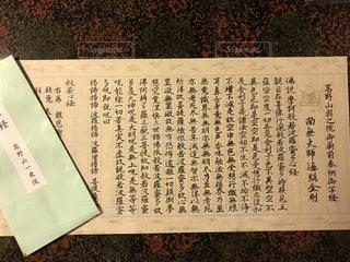 高野山一乗院の写経の写真・画像素材[1697547]