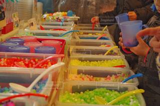 出店のお菓子量り売りの写真・画像素材[1700324]