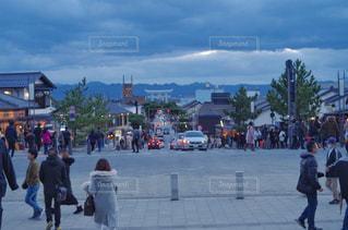 出雲大社の神門通りのショットの写真・画像素材[1700387]