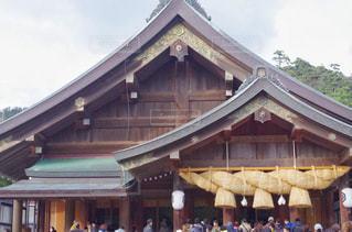 出雲大社・拝殿の風景の写真・画像素材[1703088]